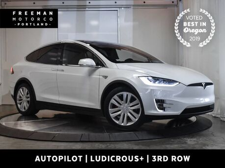 2016_Tesla_Model X_P100D Autopilot 3rd Row Vented Seats Ludicrous+_ Portland OR