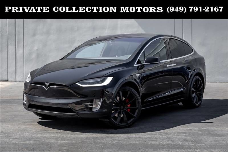 2016_Tesla_Model X_P90D $149,170 MSRP Ludicrous Speed Upgrade_ Costa Mesa CA