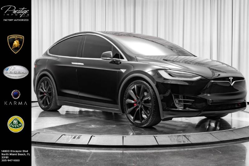 2016_Tesla_Model X_P90D_ North Miami Beach FL
