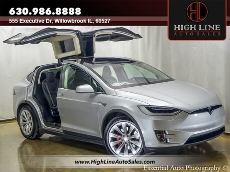 2016_Tesla_Model X_P90D_ Willowbrook IL