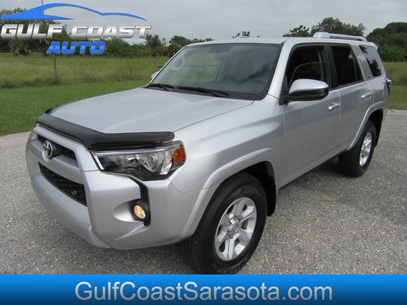 2016 Toyota 4RUNNER SR5 FL SUV WARRANTY COLD AC RUNS GREAT CAMERA Sarasota FL