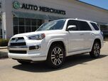 2016 Toyota 4Runner Limited 2WD V6 LEATHER, NAVIGATION, SUNROOF, HTD/CLD FRONT SEATS, BACKUP CAMERA, BLUETOOTH