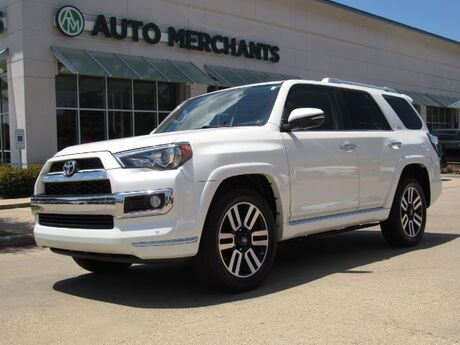 2016 Toyota 4Runner Limited 2WD V6 LEATHER, NAVIGATION, SUNROOF, HTD/CLD FRONT SEATS, BACKUP CAMERA, BLUETOOTH Plano TX