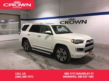 2016_Toyota_4Runner_Limited 4WD 7 Pass / Local / One Owner / Great Condition / Unbeatable Value_ Winnipeg MB