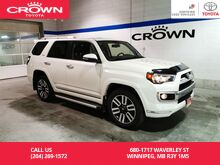 2016_Toyota_4Runner_Limited 5 Pass / Lease Return / Clean Carproof / Low Kms / Great Condition_ Winnipeg MB