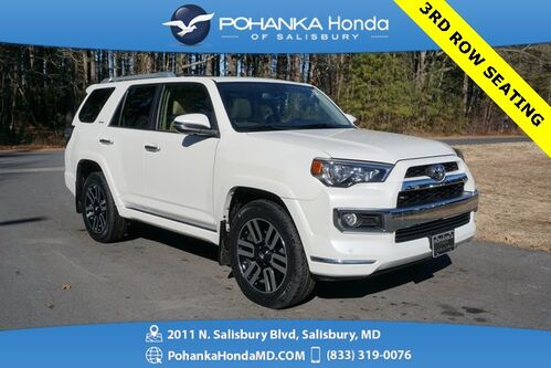 2016_Toyota_4Runner_Limited  AWD ** 3RD ROW SEATING ** NAVI & SUNROOF **_ Salisbury MD
