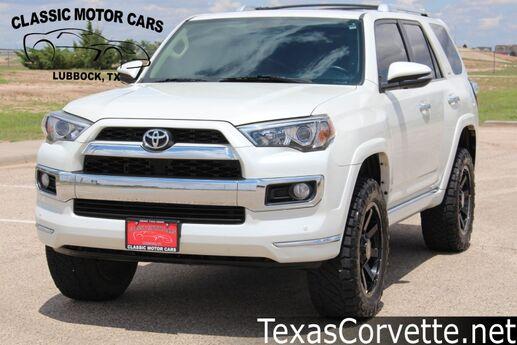 2016 Toyota 4Runner Limited Lubbock TX