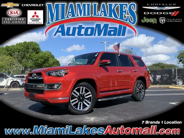 2016 Toyota 4Runner Limited Miami Lakes FL