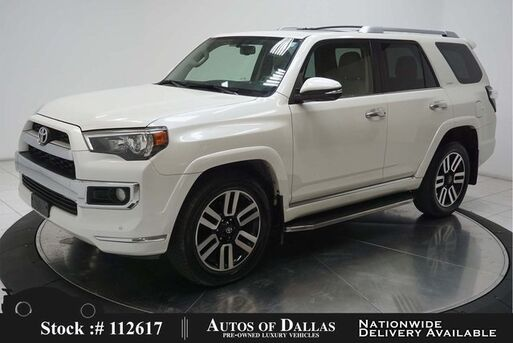 2016_Toyota_4Runner_Limited NAV,CAM,SUNROOF,CLMT STS,PARK ASST,20IN WH_ Plano TX