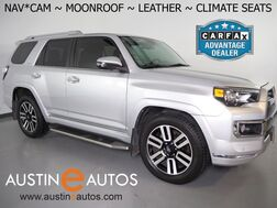 2016_Toyota_4Runner Limited_*NAVIGATION, BACKUP-CAMERA, COLOR TOUCH SCREEN, MOONROOF, LEATHER, CLIMATE SEATS, JBL AUDIO, 20 INCH WHEELS, BLUETOOTH PHONE & AUDIO_ Round Rock TX