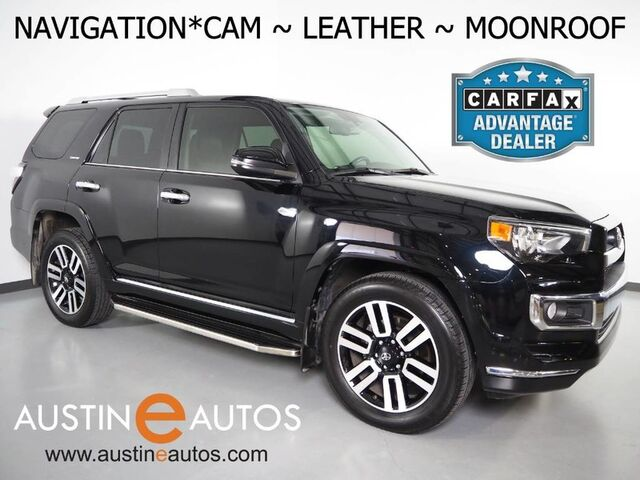 2016 Toyota 4Runner Limited *NAVIGATION, BACKUP-CAMERA, TOUCH SCREEN, MOONROOF, LEATHER, CLIMATES SEATS, BLUETOOTH PHONE & AUDIO Round Rock TX