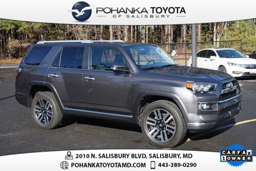 2016_Toyota_4Runner_Limited NAVIGATION_ Salisbury MD