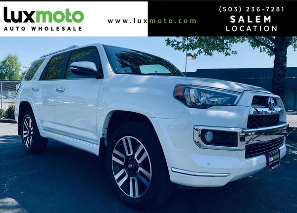 2016_Toyota_4Runner_Limited_ Portland OR