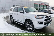 2016 Toyota 4Runner Limited South Burlington VT