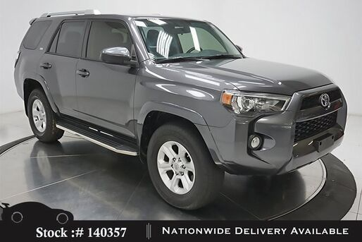 2016_Toyota_4Runner_SR5 NAV,CAM,17IN WLS,3RD ROW STS_ Plano TX