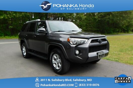 2016_Toyota_4Runner_SR5 Premium 4WD ** NAVI & SUNROOF ** ONE OWNER **_ Salisbury MD