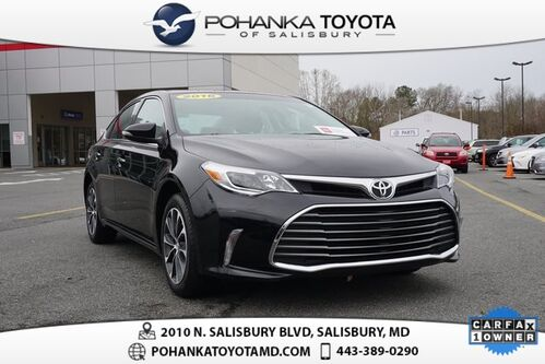 2016_Toyota_Avalon_XLE CERTIFIED BLOWOUT_ Salisbury MD