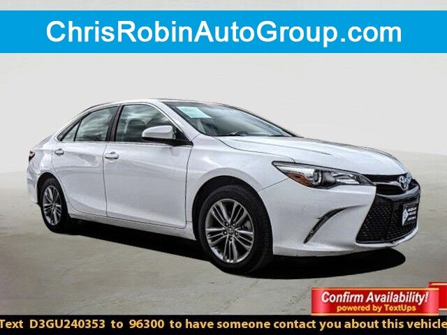 2016 Toyota Camry 4DR SDN I4 AUTO LE Midland TX
