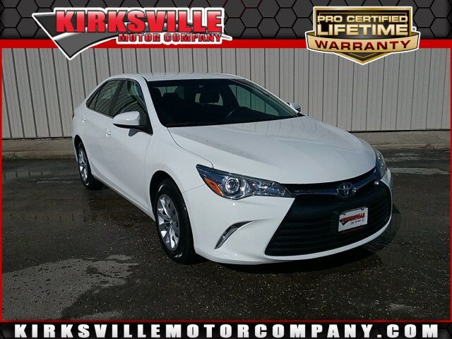 2016 Toyota Camry 4dr Sdn I4 Auto LE Kirksville MO