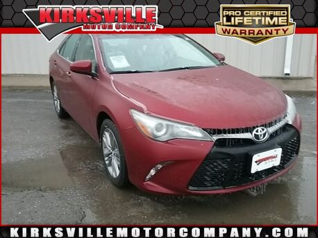 2016_Toyota_Camry_4dr Sdn I4 Auto SE_ Kirksville MO