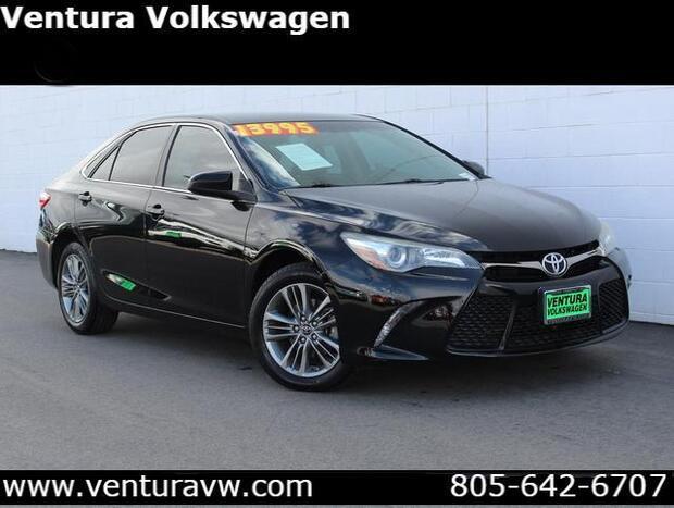 2016 Toyota Camry 4dr Sdn I4 Auto SE Ventura CA