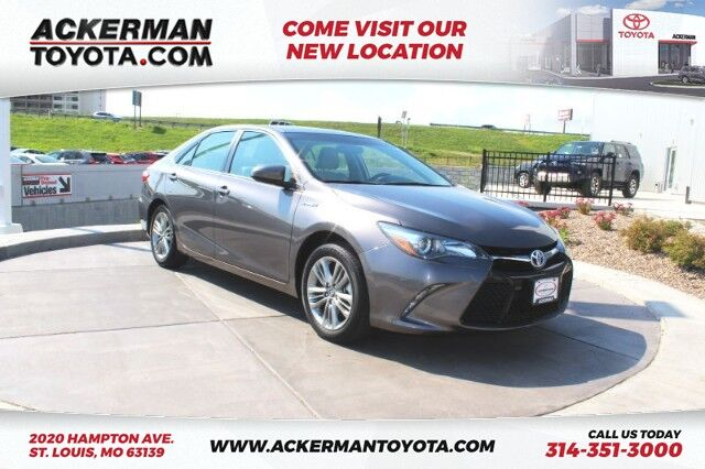 2016 Toyota Camry Hybrid SE St. Louis MO