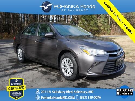 2016_Toyota_Camry_LE ** Pohanka Certified 10 Year / 100,000  **_ Salisbury MD