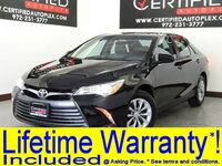 Toyota Camry LE REAR CAMERA BLUETOOTH HEATED MIRRORS POWER SEAT POWER LOCK 2016