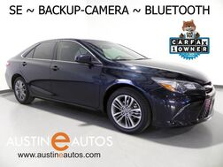 2016_Toyota_Camry SE_*BACKUP-CAMERA, LEATHER, STEERING WHEEL CONTROLS, CRUISE, ALLOY WHEELS, BLUETOOTH PHONE & AUDIO_ Round Rock TX