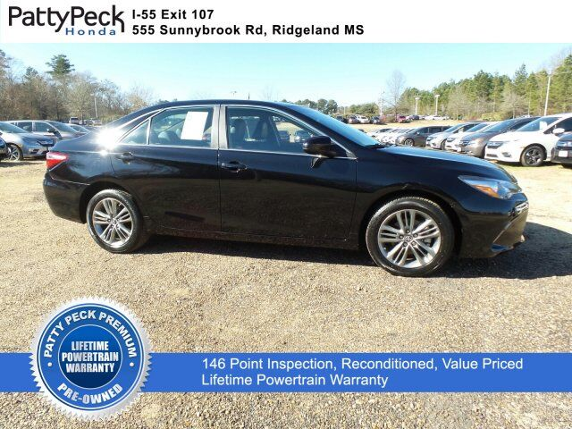 2016 Toyota Camry SE FWD Jackson MS
