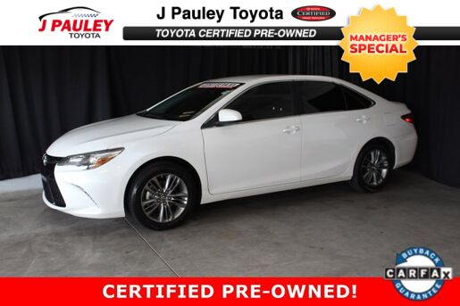 2016_Toyota_Camry_SE_ Fort Smith AR