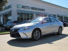 2016_Toyota_Camry_SE LEATHER/CLOTH, BACKUP CAMERA, BLUETOOTH CONNECTIVITY, CLIMATE CONTROL, UNDER FACTORY WARRANTY_ Plano TX