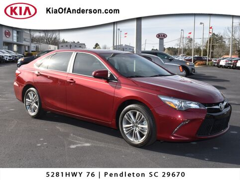 2016_Toyota_Camry_SE_ Greenville SC