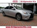 2016 Toyota Camry SE Sedan, Remote Keyless Entry, Rear-View Camera, Touch-Screen Display, Bluetooth Streaming Audio, Front Bucket Seats, Split Folding Rear Seats, Sport Tuned Suspension, 17-Inch Alloy Wheels,