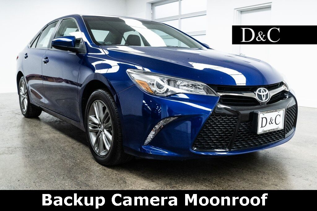 2016 Toyota Camry XLE Backup Camera Moonroof Portland OR