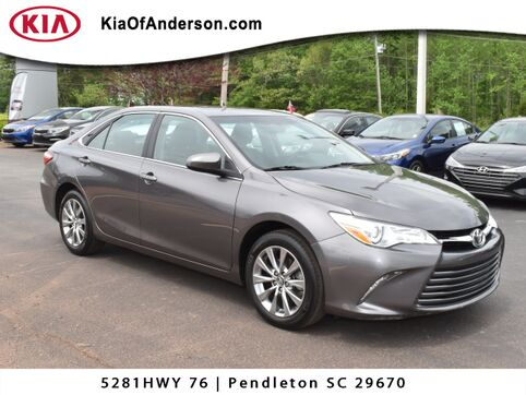 2016_Toyota_Camry_XLE_ Greenville SC