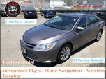 2016 Toyota Camry XLE w/ Navigation Package