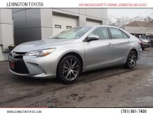 2016_Toyota_Camry_XSE_ Lexington MA