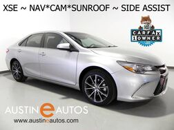 2016_Toyota_Camry XSE_*NAVIGATION, BLIND SPOT ALERT, BACKUP-CAMERA, LEATHER, MOONROOF, HEATED SEATS, REMOTE START, BLUETOOTH PHONE & AUDIO_ Round Rock TX