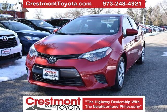 2016 Toyota Corolla  Pompton Plains NJ