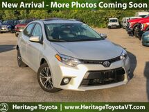 2016 Toyota Corolla  South Burlington VT