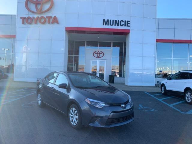 2016 Toyota Corolla 4dr Sdn CVT LE Muncie IN