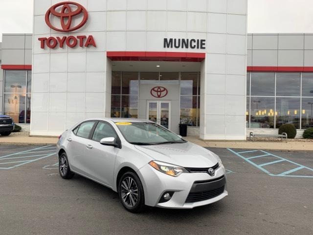2016 Toyota Corolla 4dr Sdn CVT LE Plus Muncie IN