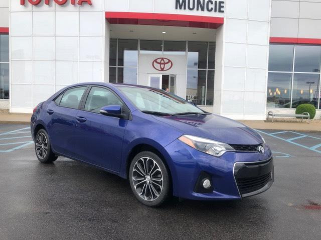 2016 Toyota Corolla 4dr Sdn CVT S Plus Muncie IN