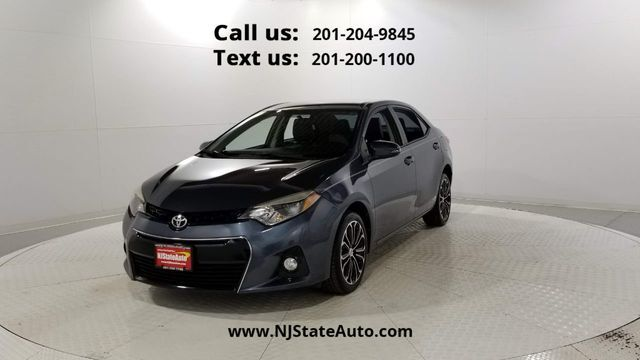 2016 Toyota Corolla 4dr Sedan CVT S Jersey City NJ