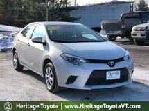 2016 Toyota Corolla L South Burlington VT