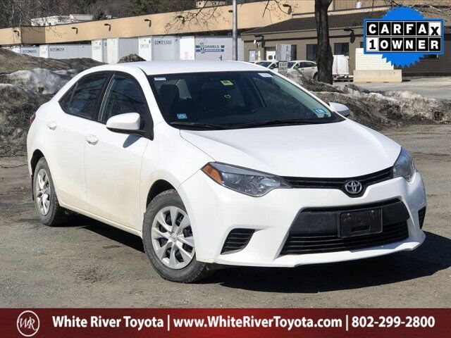 2016 Toyota Corolla L White River Junction VT