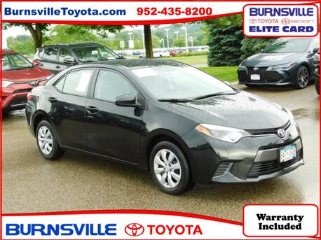 2016_Toyota_Corolla_LE_ Burnsville MN