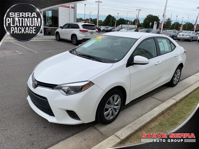 2016 Toyota Corolla LE Decatur AL