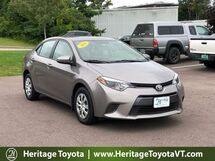 2016 Toyota Corolla LE ECO South Burlington VT